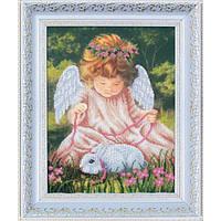 Набор для вышивания Магия Канвы Б-094 Ангел с кроликом