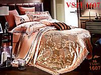 Постельное белье сатин жаккард Tiare Вилюта. VSJT 1607