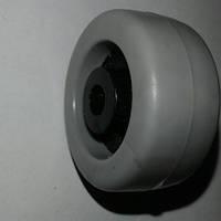 Ролик мебельный - серо-чёрный (Ф-31мм), материал резина