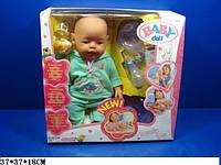Пупс кукла Baby Born Беби Борн 058-7 Маленькая Ляля новорожденный с аксессуарами