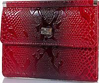 Красивый женский карманный кожаный кошелек DESISAN SHI105-500 красный