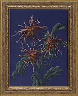 """Набор для вышивания бисером """"Хризантемы в саду"""""""