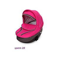 Детская универсальная коляска 2 в 1 VERDI FASTER 28, графит/роз