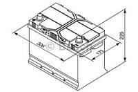 """Аккумулятор BOSCH S4 Silver 95Ah , EN 830 , for JAPAN левый """"+"""" , ( Bosch 0 092 S40 290 ) 306*173*225 (Д*Ш*В)"""