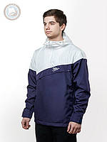 Весенне-осенняя куртка ветровка (анорак) Urban Planet - WP (белый \ фиолетовый)