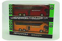 Машинка игровая автопром «Автобус» (свет, звук) - 2 вида