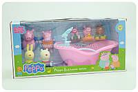 Детский игровой набор «Ванная комната Свинки Пеппы»