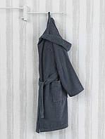 Marie Claire Skimmia махровый халат с капюшоном Mavi размер L