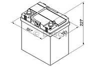 "Аккумулятор BOSCH S4 Silver 40Ah , EN 330 , for JAPAN правый ""+"" , ( Bosch 0 092 S40 180 ) 187*127*227 (Д*Ш*В)"