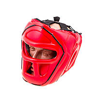 Шлем для единоборств с пластиковой маской PVC EVERLAST EV-5010R