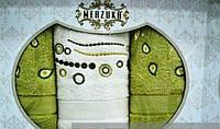 Комплект турецких качественных полотенец Merzuka