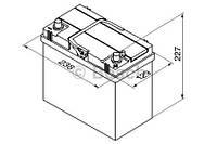 "Аккумулятор BOSCH S4 Silver 45Ah , EN 330 , for JAPAN правый ""+"" , ( Bosch 0 092 S40 210 ) 238*129*227 (Д*Ш*В)"