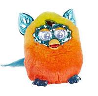 Русифицированная Интерактивная игрушка Ферби Бум Кристалл Furby Boom Crystal (Желто-оранжевый)