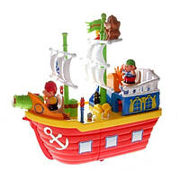 Развивающая игрушка Пиратский корабль Kiddieland (038075). Оригинал