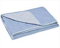 Одеяло легкое в кроватку 140х105 Руно голубой