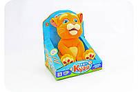 Мягкая интерактивная игрушка-повторюшка «Кот Кузя»