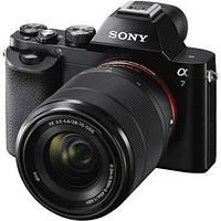 Цифр. фотокамера Sony Alpha 7 + объектив 28-70 KIT black