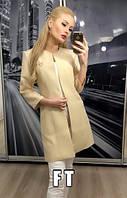 Женский габардиновый пиджак Chanel