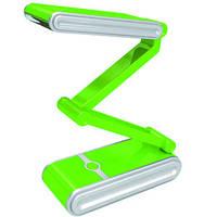 Светильник зеленый,складной,аккумуляторный,  КМ-6631