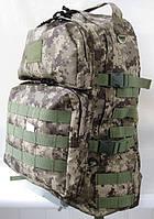 Рюкзак армейский тактический 40л с MOLLE пиксели