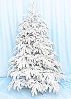 """Елка """"Арктика заснеженная"""", пластиковые ветки, скрученная нитками С034, высота 180 см"""