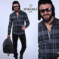 Классная мужская рубашка черная