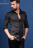 Супер красивая мужская рубашка черная