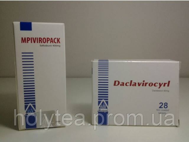 Софосбувир и Даклатасвир. Препараты от гепатита С