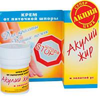 Крем Акулий жир и золотой ус (ШПОРА STOP)