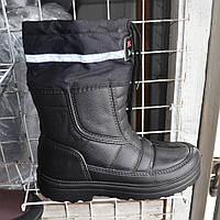 Мужские сапоги дутики на зиму на завязках, сезон 2016 - Артикул 137-33