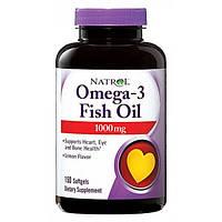 Комплекс незаменимых жирных кислот Natrol Omega-3 Fish Oil (150 порций)