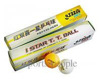 Мячи для настольного тенниса DHS 1*, 40 mm, (6 шт.)