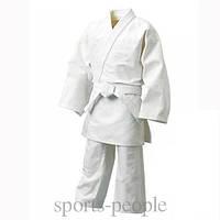 Кимоно/одежда для дзюдо+пояс, 100% хлопок, размеры на рост: от 1 до 2 м. (интервал между размерами 10 см).