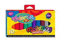 COLORINO Пластилин 10 цветов масса для моделирования