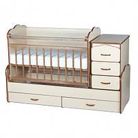 Детская многофункциональная кроватка Надія-12