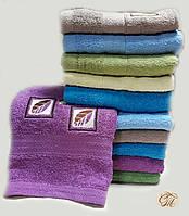 Полотенце для лица и рук Квадрат-2 малиновый