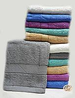 Полотенце банное Серое