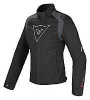 Мотокуртка женская Dainese Laguna Seca D-Dry текстиль черный белый 40