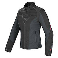 Мотокуртка женская Dainese Laguna Seca D-Dry текстиль черный розовый 40