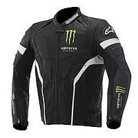 Мотокуртка ALPINESTARS Scream кожа черный зелный белый 58