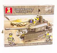 """Конструктор SLUBAN M38-B0287 """"Вооруженные силы: Танк Центурион МК12"""" 215 дет"""