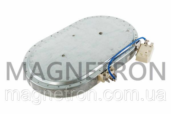 Конфорка для стеклокерамической поверхности Beko 1100/2000W, фото 2