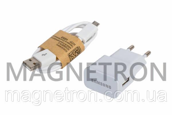 Зарядное устройство ETA-U90EWE (USB 5V 2A) + кабель USB/Micro-USB для телефонов Samsung GH44-02430D, фото 2
