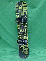 Сноуборд Burton cruizer 145 см + кріплення