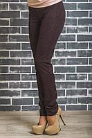 Лосины брюки женские коричневые