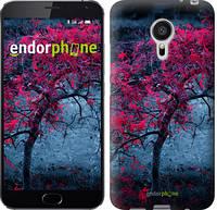 """Чехол на Meizu MX5 Дерево с яркими листьями """"2942u-105"""""""