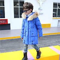 Курточка пальто для мальчика зима