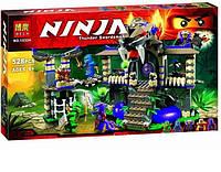 "Конструктор Bela Ninja 10324 (аналог Lego Ninjago 70749) ""Храм Клана Анакондрай""- Нинзяго"