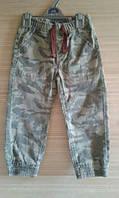 Крутые джинсы для мальчика в стиле миллитари