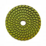 Круг полировальный 100x4x15 №1500 Baumesser Premium (зерно №1500), гибкий полировальник для гранита и мрамора
